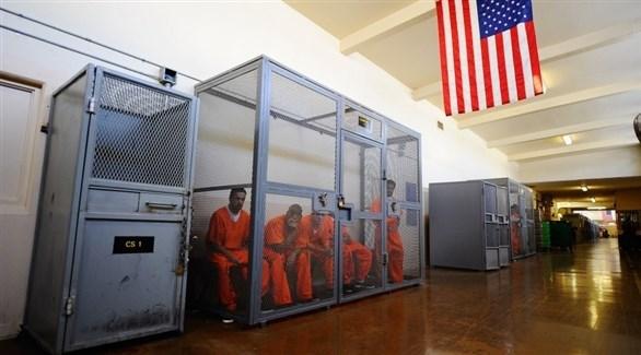 سجناء في ولاية كاليفورنيا الأمريكية (أرشيف)