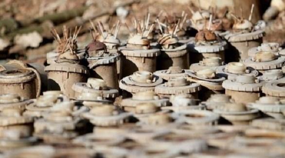 ألغام حوثية في اليمن (أرشيف)