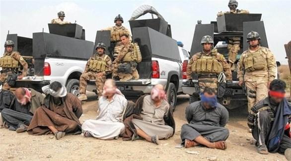 الجيش العراقي يلقي القبض على عناصر داعش في الموصل (أرشيف)