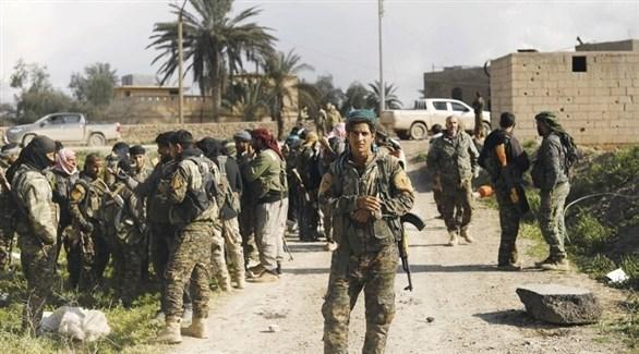 قوات سوريا الديمقراطية على مشارف الباغوز السورية (أرشيف)