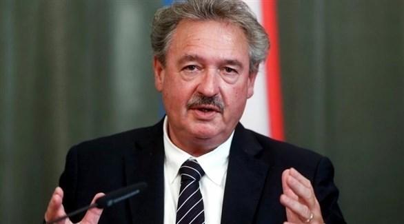وزير خارجية لوكسمبورغ جان أسيلبورن (أرشيف)