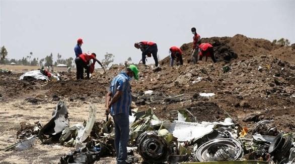 مكان تحطم طائرة الخطوط الجوية الإثيوبية (أرشيف)