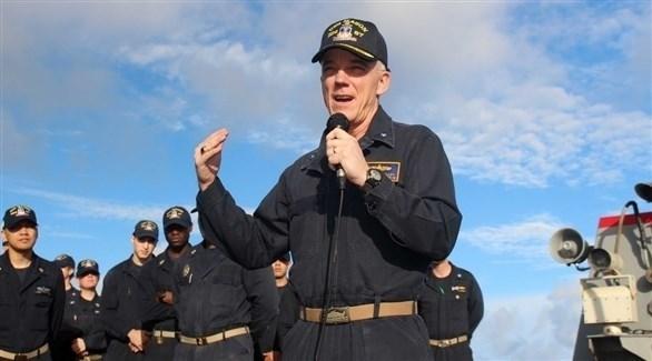 قائد القيادة المركزية للقوات البحرية الأمريكية اللواء بحري جيم مالوي (أرشيف)
