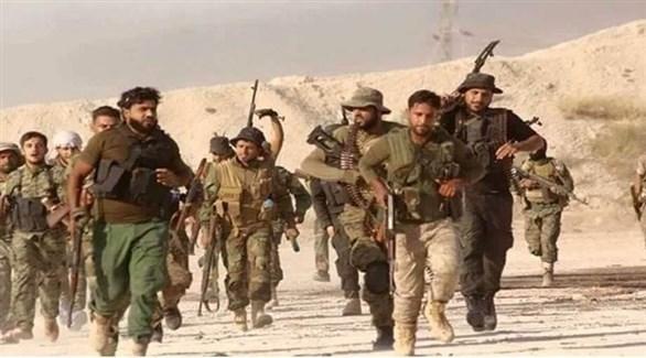 مسلحون من الحشد العشائري في الموصل العراقية (أرشيف)