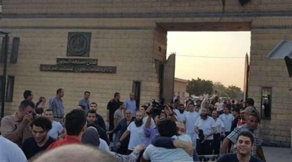 سجناء مفرج عنهم في مصر (أرشيف)