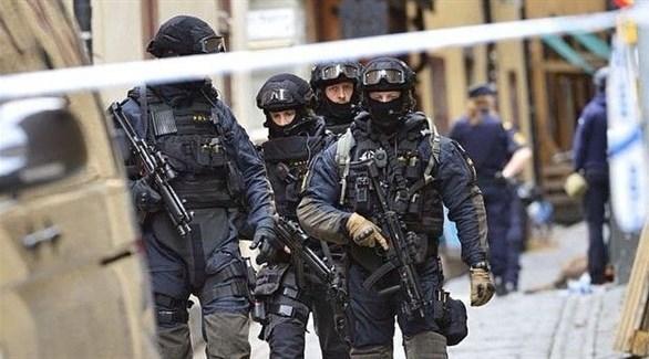 عناصر من الشرطة السويدية (أرشيف)