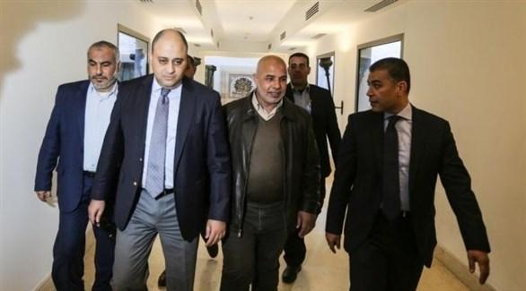 الوفد الأمني المصري المكلف بالتهدئة بين حماس وإسرائيل (أرشيف)