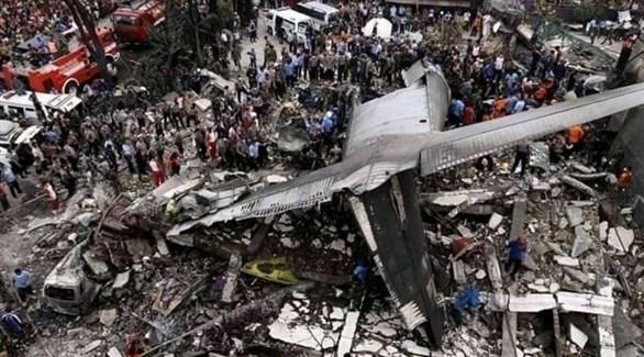 حطام الطائرة الإثيوبية المنكوبة (أرشيف)