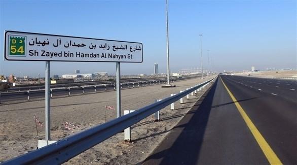 شارع الشيخ زايد بن حمدان آل نهيان (أرشيف)