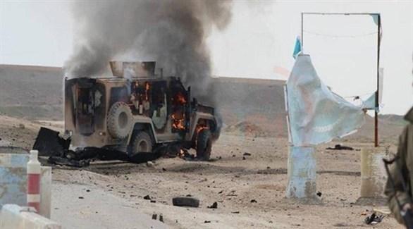 دورية عسكرية لقوات قسد استهدفها تنظيم داعش في سوريا (أرشيف)