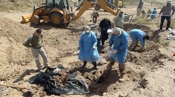 العثور على مقبرة جماعية في العراق (أرشيف)