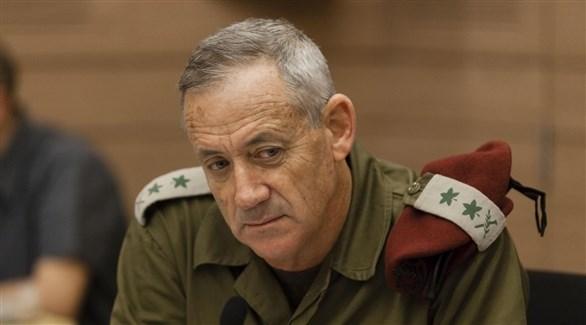 رئيس أركان الجيش الإسرائيلي السابق بيني غانيتس (أرشيف)