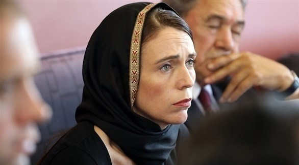 رئيسة وزراء نيوزيلندا جاسيندا أرديرن (أ ف ب)