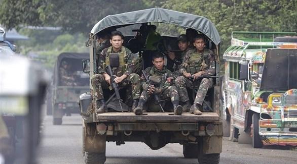 عناصر من الجيش الفلبيني (أرشيف)
