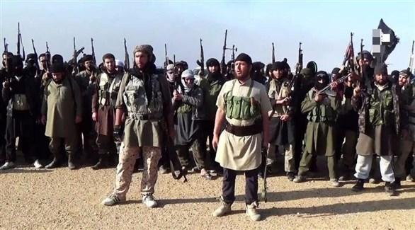 مسلحون من تنظيم داعش الإرهابي في سوريا (أرشيف)