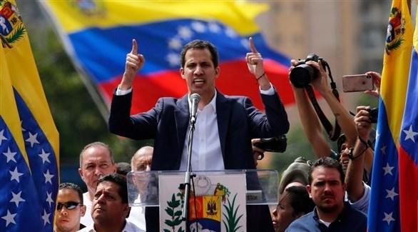زعيم المعارضة الفنزويلية رئيس البرلمان خوان غوايدو (أرشيف)