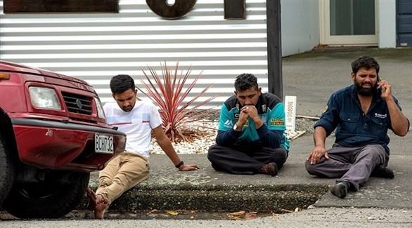 أهالي ضحايا الهجوم الإرهابي(أرشيف)