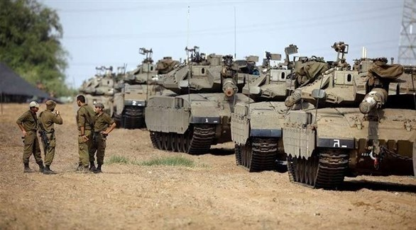 جيش إسرائيلي على الحدود مع قطاع غزة (أرشيف)