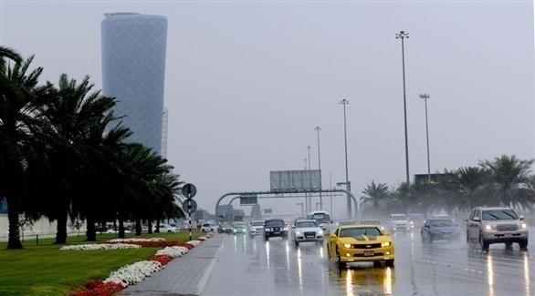 أمطار في أبوظبي (أرشيف)
