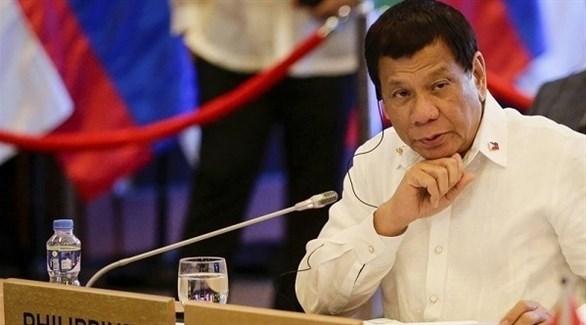 الرئيس الفيليبيني رودريغو دوتيرتي (أرشيف)