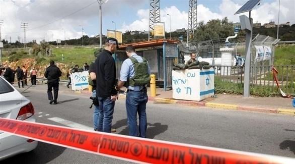 طوق أمني إسرائيلي حول موقع عملية أرئيل (أرشيف)
