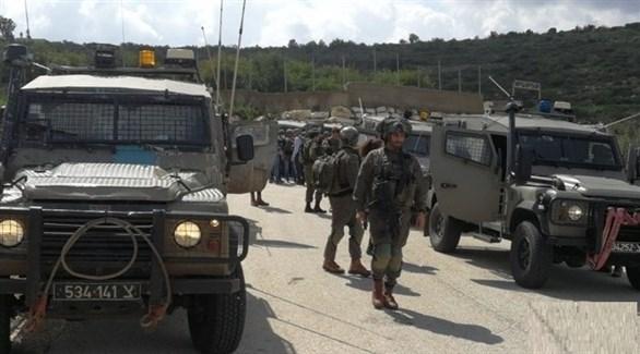 قوة إسرائيلية في الضفة الغربية (أرشيف)