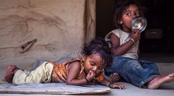 أطفال في الشارع معرضون للخطر (أرشيف)