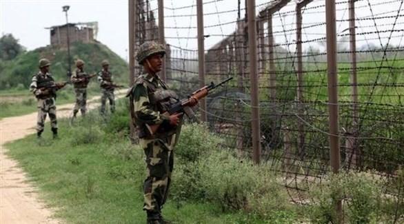 جنود هنود على الحدود مع باكستان (أرشيف)