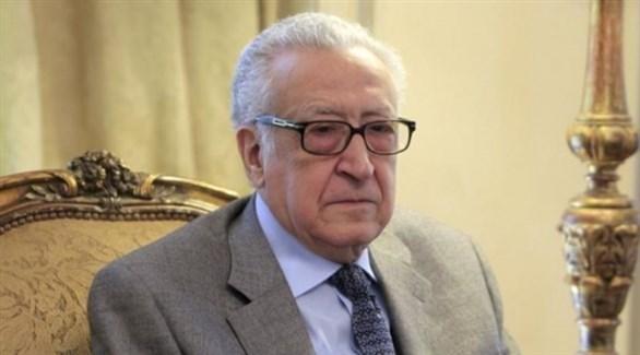 الدلوماسي الجزائري الأخضر الإبراهيمي (أرشيف)