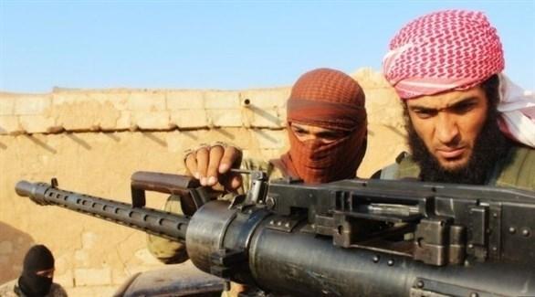مقاتلان من داعش (أرشيف)