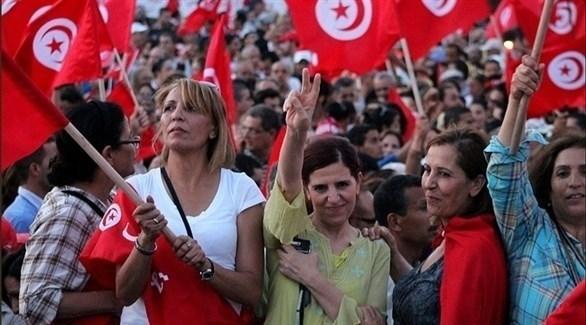 احتجاجات نسائية في تونس (أرشيف)