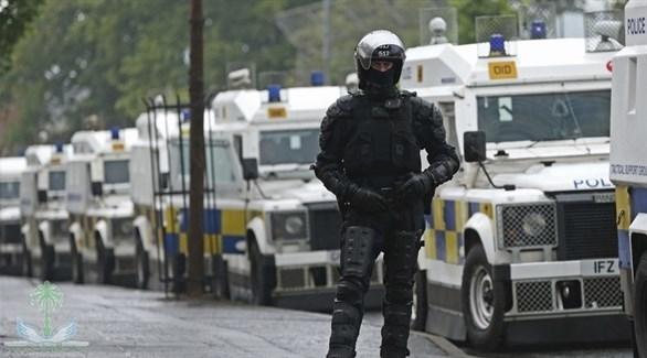 عنصر شرطة بأيرلندا الشمالية(أرشيف)