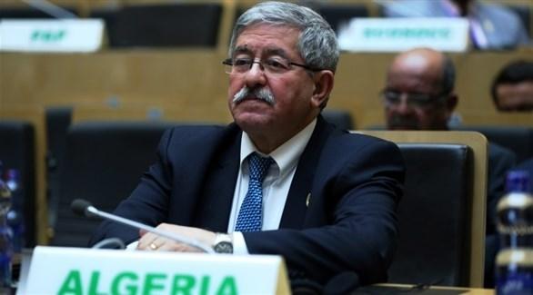 رئيس الوزراء  الجزائري المستقيل أحمد أويحي (أرشيف)