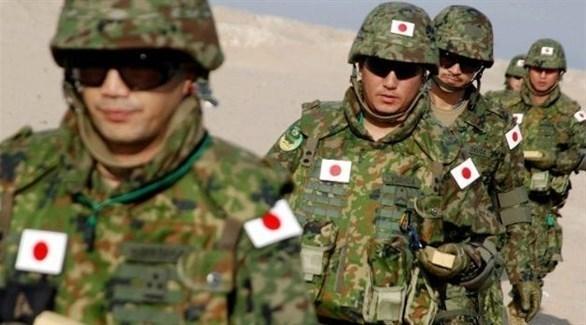 عناصر من الجيش الياباني (أرشيف)