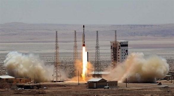 انطلاق صاروخ باليستي إيراني (أرشيف)