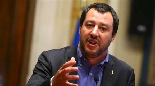 وزير الداخلية الإيطالي، ماتيو سالفيني (أرشيف)