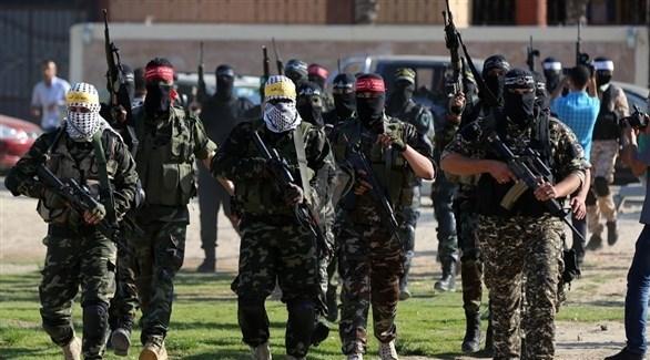عناصر من أمن حماس في غزة (أرشيف)