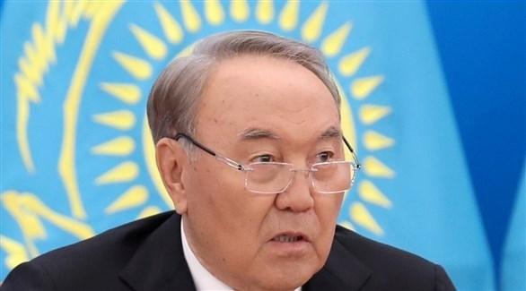 الرئيس المستقيل نور سلطان نزار باييف (أرشيف / رويترز)