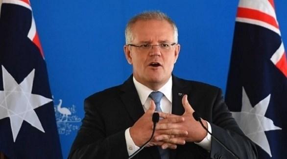 رئيس الوزراء الأسترالي سكوت موريسون (أرشيف)