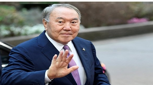 رئيس كازاخستان المستقيل نور سلطان نزاربييف (أرشيف)