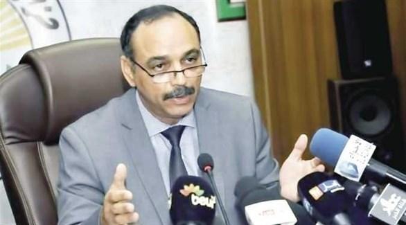 عضو حزب جبهة التحرير الوطني الحاكم في الجزائر حسين خلدون (أرشيف)