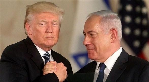 الرئيس الأمريكي دونالد ترامب ورئيس الحكومة الإسرائيلية بنيامين نتانياهو (أرشيف)
