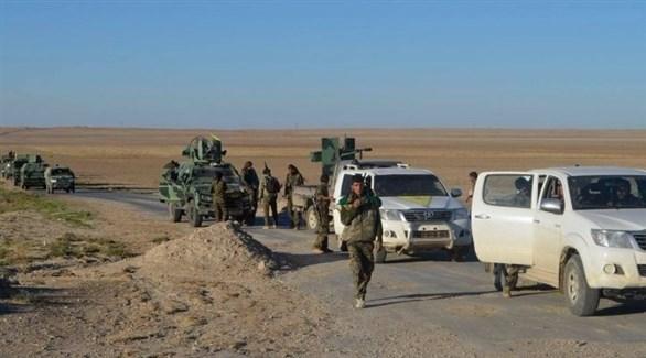 قوات سوريا الديمقراطية في معقل داعش الأخير (أرشيف)