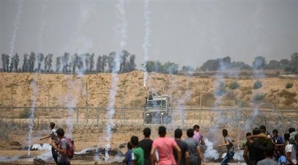 انتهاكات إسرائيلية خلال احتجاجات غزة (أرشيف)