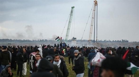 مظاهرات مسيرة العودة وكسر الحصار في غزة (أرشيف)