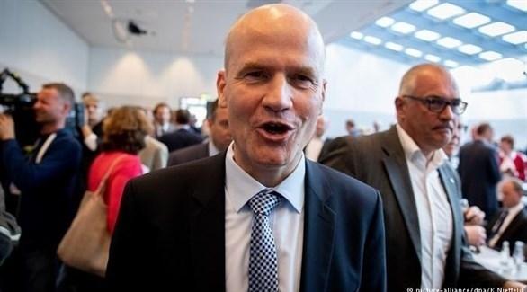 رالف برينكهاوس زعيم الكتلة البرلمانية لتحالف ميركل (أرشيف)