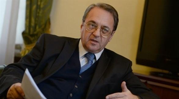 المبعوث الخاص للرئيس الروسي إلى الشرق الأوسط ميخائيل بوغدانوف (أرشيف)
