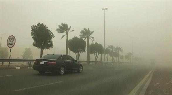 طقس مغبر في الإمارات (أرشيف)