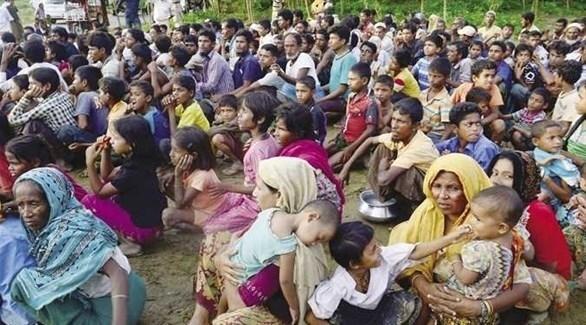لاجؤو الروهينغا في بنغلاديش (أرشيف)