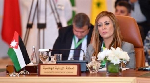 وزير الدولة لشؤون الإعلام والمتحدثة باسم الحكومة الأردنية جمانة غنيمات (أرشيف)